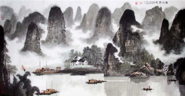陈惠琪作品欣赏--中国书画收藏图片