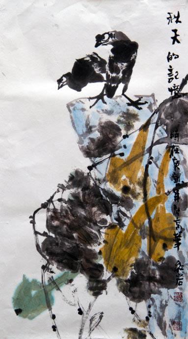 闫红岩作品欣赏--中国书画收藏图片