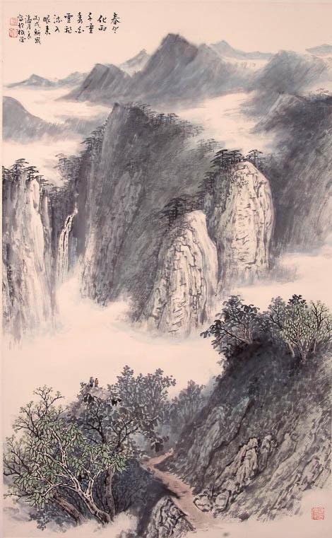 潘月良作品欣赏--中国书画收藏图片