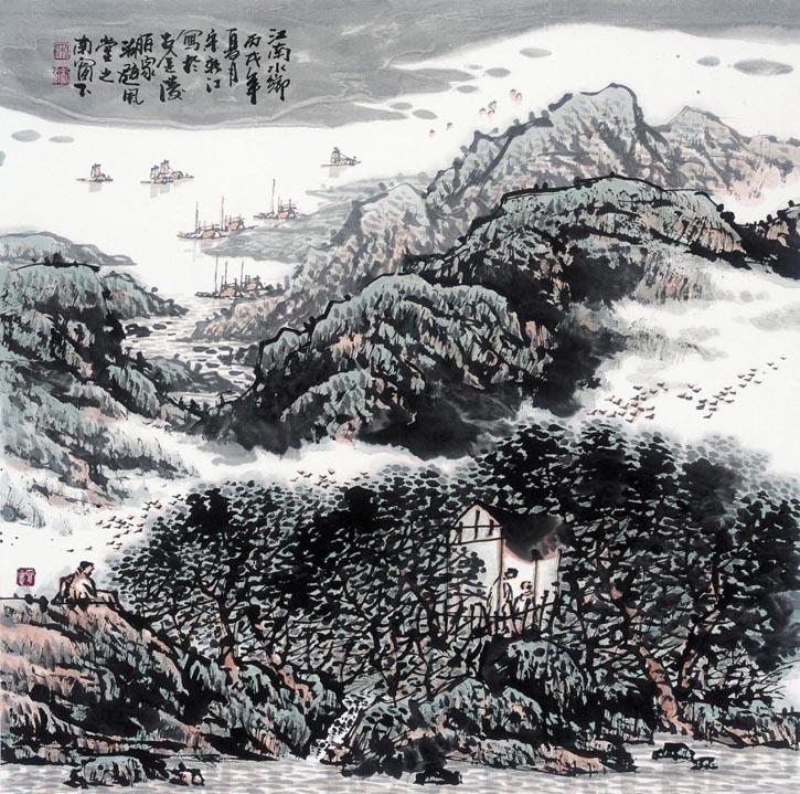 宋新江作品欣赏--中国书画收藏图片