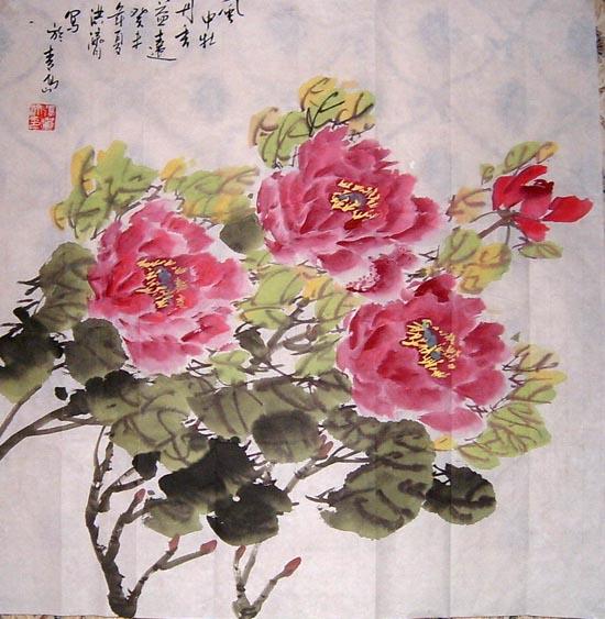 张洪济作品欣赏--中国书画收藏图片